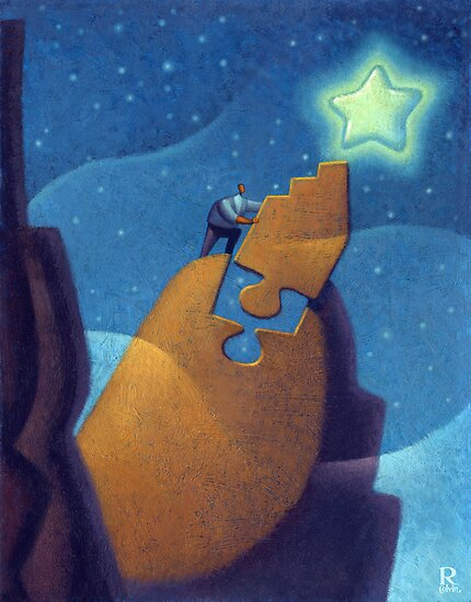 Reach for the Stars by Rob Colvin
