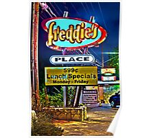 Freddie's Place Poster