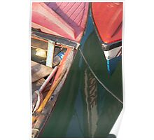 Fishing Boats: Side by Side Poster