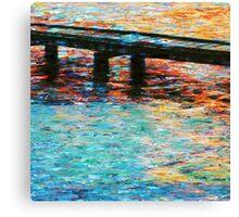 Monet Mandurah Co Canvas Print