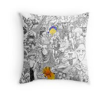 EPIC 02 Angelina Vick Throw Pillow