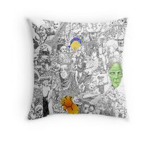 EPIC 03 Cristopher Ernest Throw Pillow