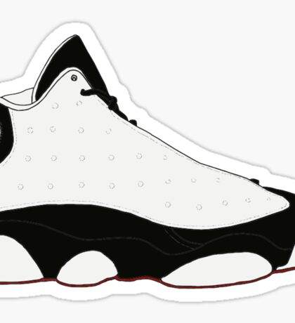 "Air Jordan XIII (13) ""He Got Game"" Sticker"