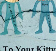 Cat Alien Kitty Extraterrestrial Sticker