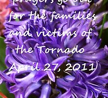 For the Families Affected by the Tornado April 27, 2011 by Charldia