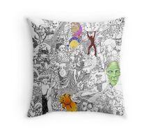 EPIC 05 Steve Hester Throw Pillow