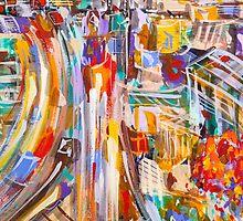 City rush by Adam Bogusz