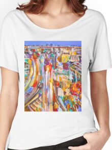 City rush Women's Relaxed Fit T-Shirt