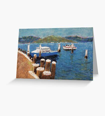 Adam Pearson's 'Brooklyn on the Hawkesbury River' Greeting Card