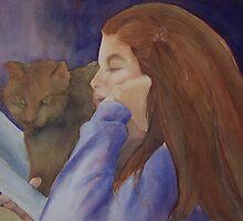 Sara n friend by Ellen Keagy