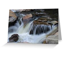 Small Cascades Greeting Card