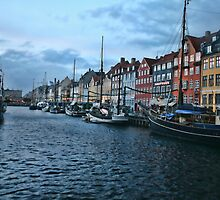 Copenhagen Harbor by Harlan Stillions