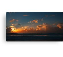 Sunrise on the Gold Coast Canvas Print