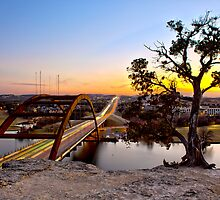 Pennybacker Bridge  by Sam Seizert