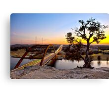 Pennybacker Bridge  Canvas Print