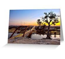 Pennybacker Bridge  Greeting Card