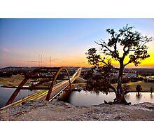 Pennybacker Bridge  Photographic Print