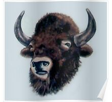 Wooly Bison Poster