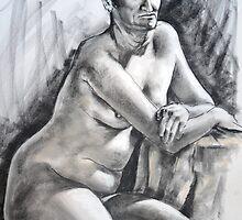 Life drawing, 30th April 2011 by Mick Kupresanin
