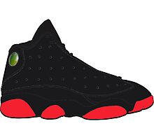 "Air Jordan XIII (13) ""Dirty Bred"" Photographic Print"