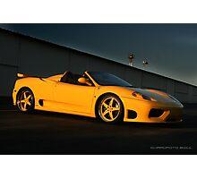 360 Ferrari Modena  Photographic Print