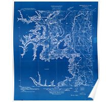 USGS Topo Map Oregon Monroe 282182 1911 31680 Inverted Poster