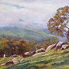 'Rising Mist - Trawool Valley' by Lynda Robinson