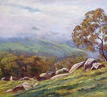 'Rising Mist - Trawool Valley' by Lynda Robinson