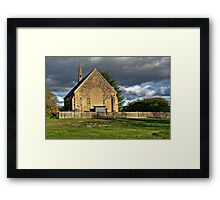 St Paul's Presbyterian Church Framed Print