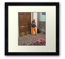 AFTER WEDDING Framed Print
