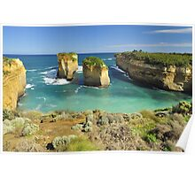 Eroded Arch Poster