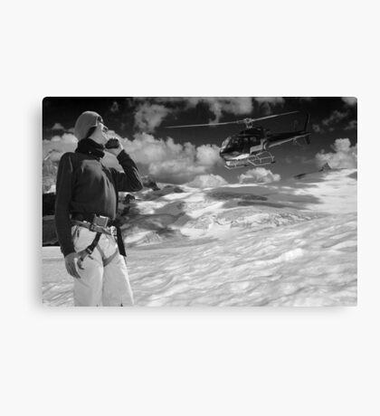 mountain rescue Canvas Print