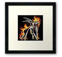 My Little Pony - MLP - FNAF - Nightmare Star Animatronic Framed Print