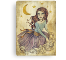 Wishes - Searching for a Fallen Star Canvas Print