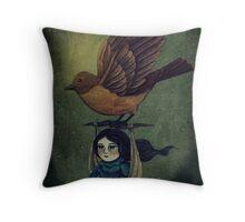 Midnight Travel Throw Pillow