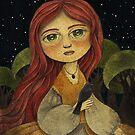 Blackbird Calling by Amalia K