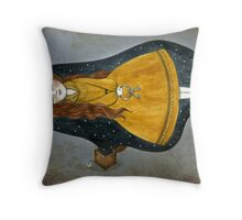 In Death in Sleep Throw Pillow