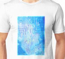 Infinitely Blue Squared Unisex T-Shirt