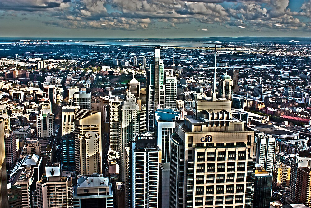 Panorama of Sydney  by EblePhilippe