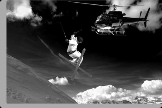 ski jump stunt by neil harrison