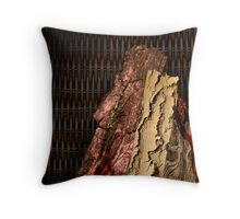 """Combustable Combination"" Throw Pillow"