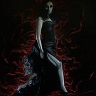 red smoke by lins
