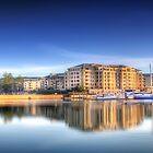 Glenelg Marina Panorama by Shannon Rogers