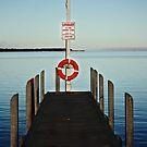 Lake King Jetty by Bevlea Ross