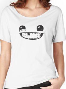SUPER MEAT BOY FACE Women's Relaxed Fit T-Shirt