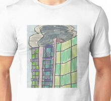 "Drawing: ""City XIII (2012) (Zenix, Erskineville)"" by artcollect Unisex T-Shirt"