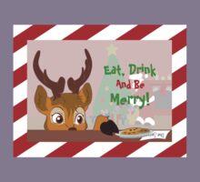 Reindeer Love Cookies Kids Tee
