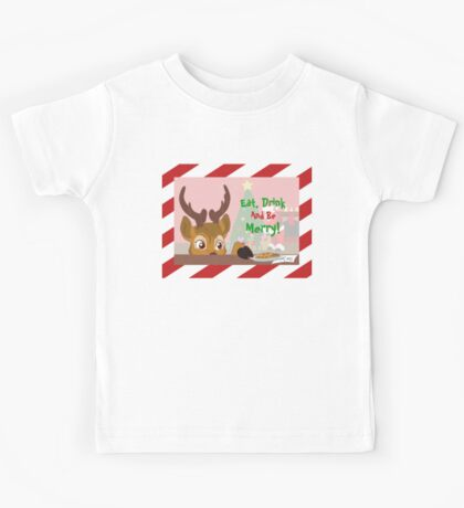 Reindeer Love Cookies Kids Tee