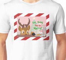 Reindeer Love Cookies Unisex T-Shirt