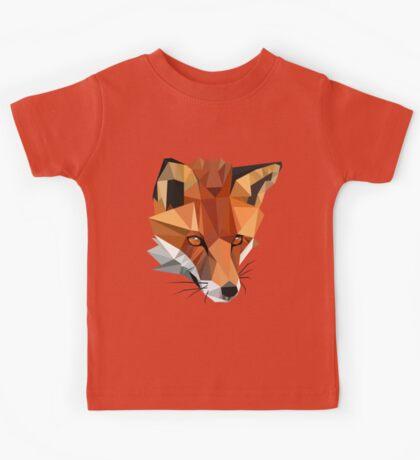 Polygon Red Fox Kids Tee